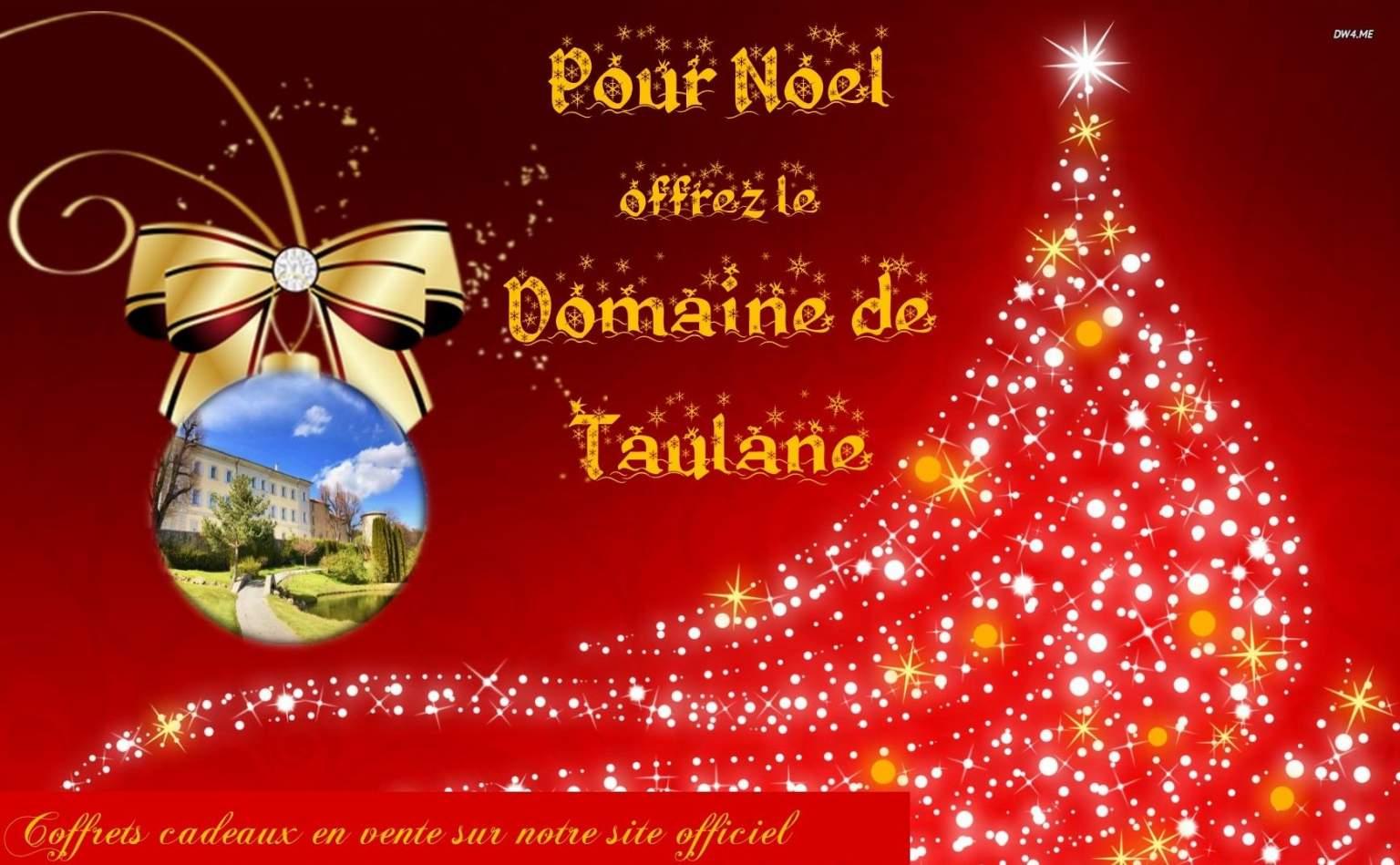<span>A Noel offrez le Domaine de Taulane !</span>